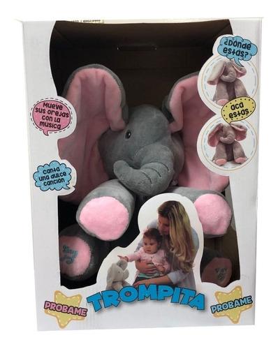 Muñeco Elefante Trompita Musical Original Next Point