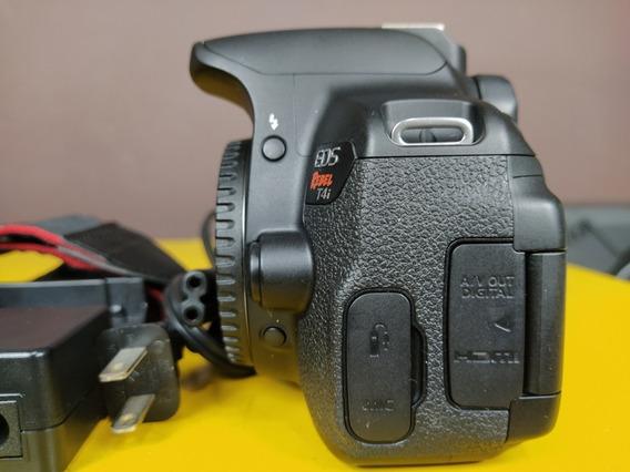 Câmera Canon T4i + Lente 18 55 De Brinde N É T3i T4i T5i T6i