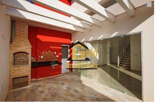 Casa Para Venda Em Condomínio - Ca0548