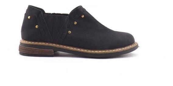Zapatos Taco Bajo Botinetas Elasticos Nuevas Otoño/invierno