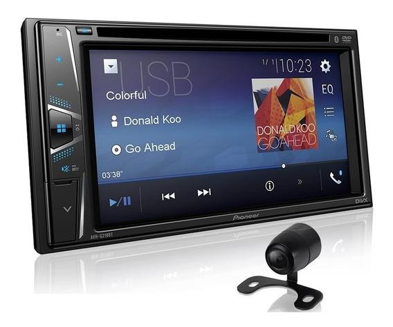 Pioneer Dvd Player Automotivo Avh-g218bt Usb Bt Câmera Ré