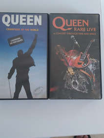 Queen Vhs Champions Of The World/rare Live