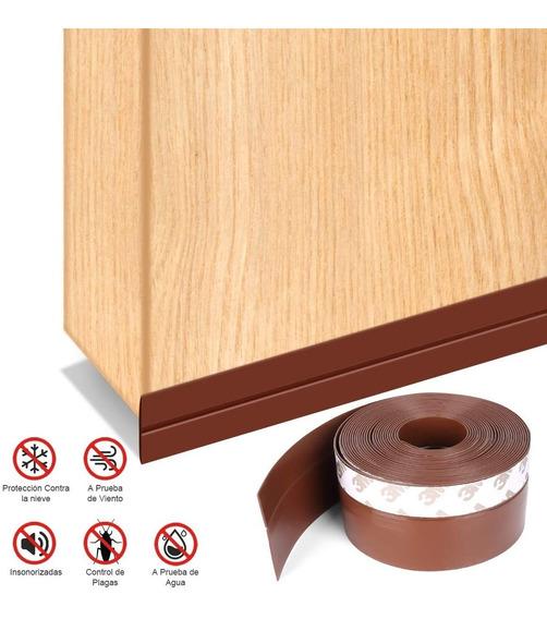 Bandas de sellado autoadhesivas para ventanas de protecci/ón contra la intemperie de silicona para puertas y puertas de cristal Negro 25mm pack de 2