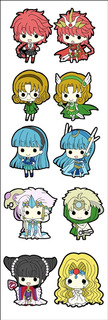 Plancha De Stickers De Anime De Magic Knight Rayearth Clamp