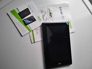 Tablet Acer Iconia B1 Con Cargador Y Manual