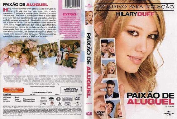 Dvd Paixão De Aluguel, Hilary Duff, Original Lacrado Novo