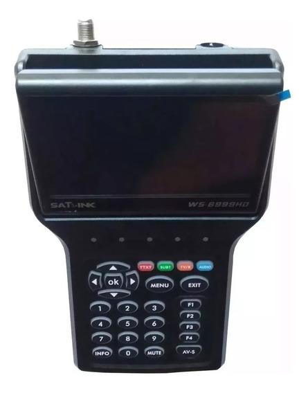 Localizador Satlink Ws 6999 Dvb-s2 Hd Retrátil Led Série A