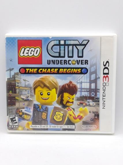 Lego City Undercover Nintendo 3ds Midia Fisica Jogo Game 2ds