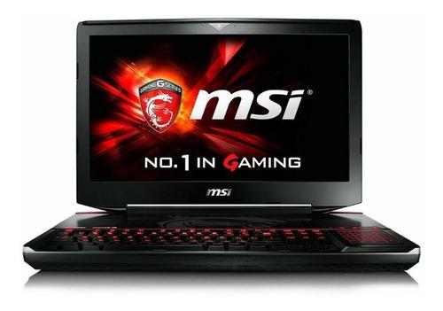Laptop Gaming Msi Gt83vr Titan Sli-255 18.4 Gtx 1080