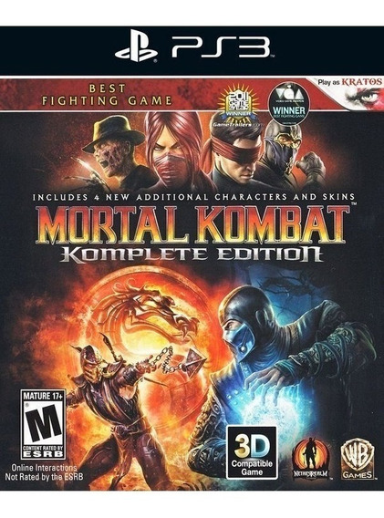 Mortal Kombat Komplete Edition - 9 - Psn Ps3