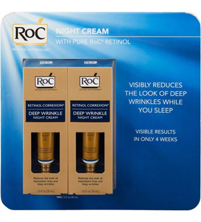 Roc Retinol Correction Wrinkle, Noche (1 Fl. Oz., 2 Pk
