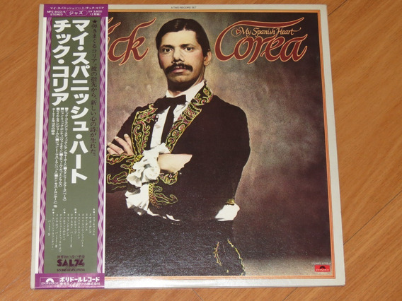Chick Corea - My Spanish Heart Lp Disco Vinil Duplo C/obi