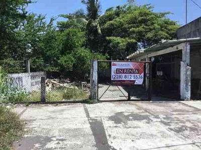 Renta Terreno Sobre Calle Principal Ciudad Cardel Veracuz