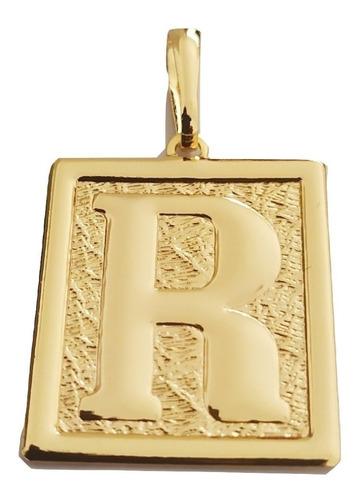 Pingente Rellicari De Letras Banhada A Ouro 18k Escolha