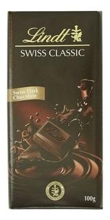 Chocolate Lindt Classic Dark Amargo 100g Suiza Envíos!