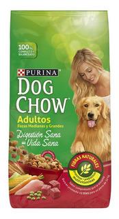 Alimento Dog Chow Vida Sana Digestión Sana perro adulto raza mediana/grande mix 21kg