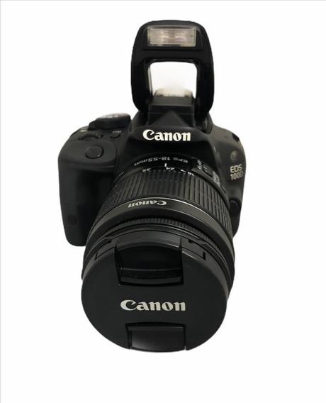 Câmera Dslr Canon Sl1 100d +1855 Seminova Impecável