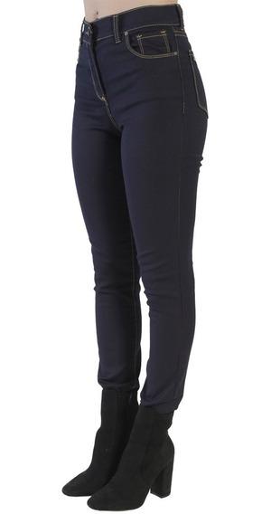 Jean Tiro Medio Elastizado Oscuro Mujer Mistral 45535