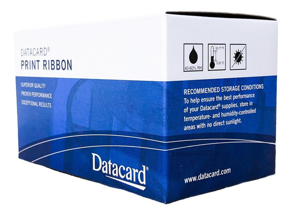 Ribbon Datacard Color 534000-003 Para 500 Impressões *