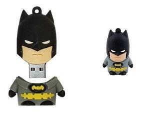 Pen Drive 16 Gb Personagens Personalizado Boneco Desenho Bat