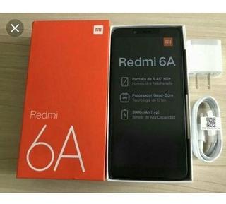 Celular Xiaomi Redmi 6a 32gb+pelicula+capa