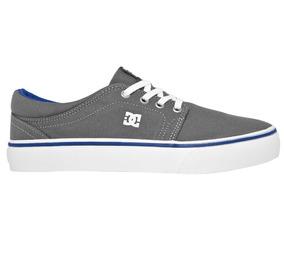 Tênis Dc Shoes Masculino Trase Tx Cinza Skate Frete Grátis