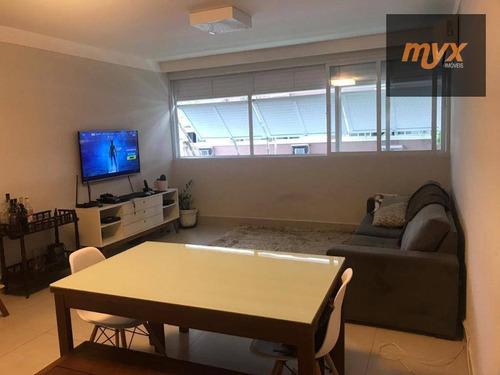 Imagem 1 de 30 de Apartamento À Venda, 128 M² Por R$ 680.000,00 - Gonzaga - Santos/sp - Ap4160