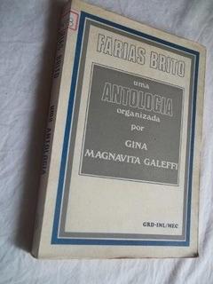 Livro - Farias Brito - Antologia - Literatura Estrangeira