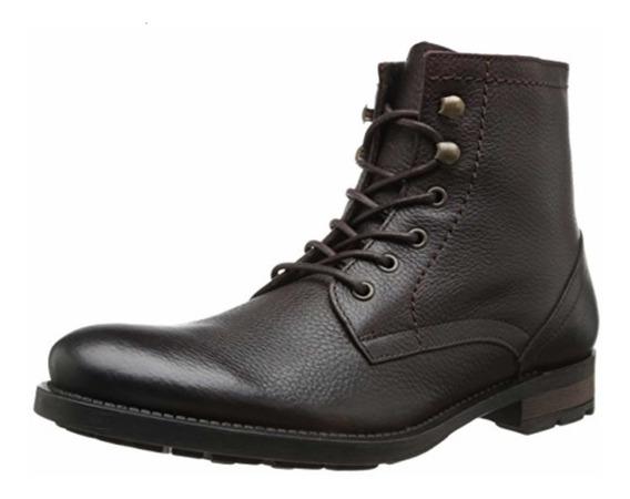 Aldo Zapatos Hombre Botas Corta Cuero 100% Orig