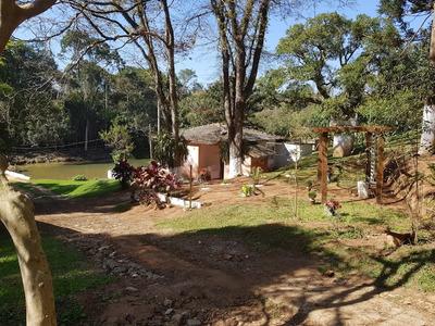 Sítio De 29 Mil Metros Com 02 Casas Em Itapevi - 11259
