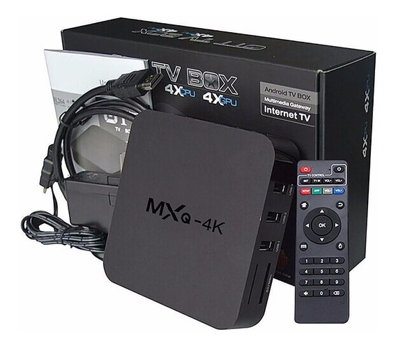 Tv Box Smart 4k Hdmi 16gb 2gb Ram Netflix Android