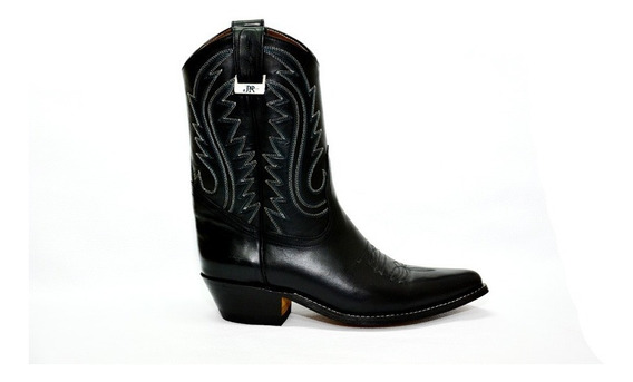 Botas Texanas - Jr Boots & Shoes - Art. 6041 Negro