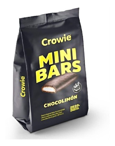 Imagen 1 de 7 de Crowie Mini Bars 50gr Promo Sin Tacc - Barata La Golosineria