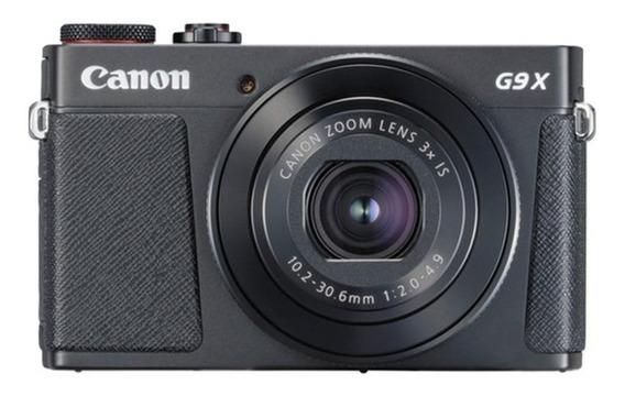 Canon PowerShot G9 X Mark II compacta cor preto