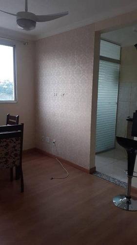 Imagem 1 de 8 de Apartamento Com 2 Dormitórios À Venda, 45 M² Por R$ 199.000 - Loteamento Parque São Martinho - Campinas/sp - Ap3363