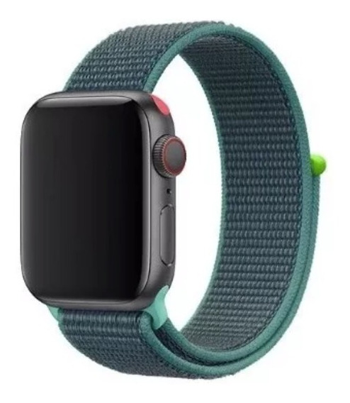 Extensible Correa Apple Watch Serie 1 2 3 4 5 Nylon Ligero