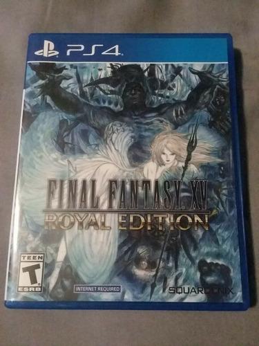 Final Fantasy Xv Royal Edition -juego -ps4