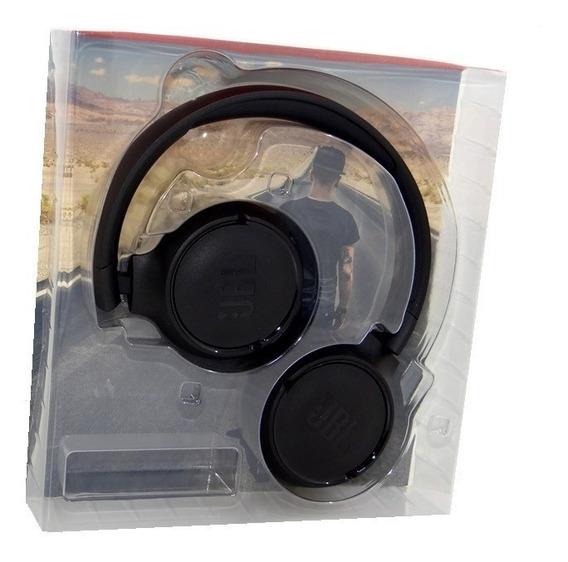 Fone De Ouvido Bluetooth Jbl Tune 500bt Preto - Original