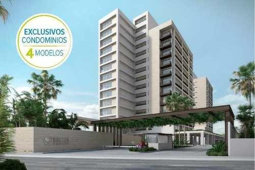 Brezza Towers. Departamentos De Lujo En Venta. Tipo Loft De 1 Recámara 73 M2. El Table. Cancún Quintana Roo