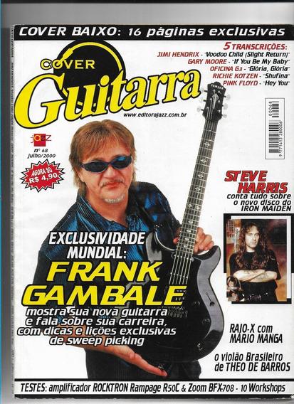 Cover Guitarra 68 Revista Frank Gambale