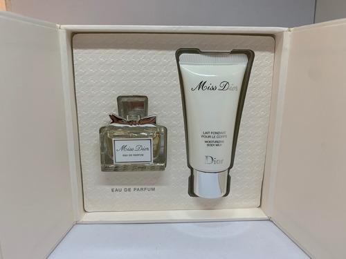 Miss Dior Eau De Perfum 5ml And Body Milk Moisturizing 20ml
