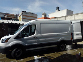 Ford Transit 2.2 Van Larga Techo Alto Aa Custom Mt