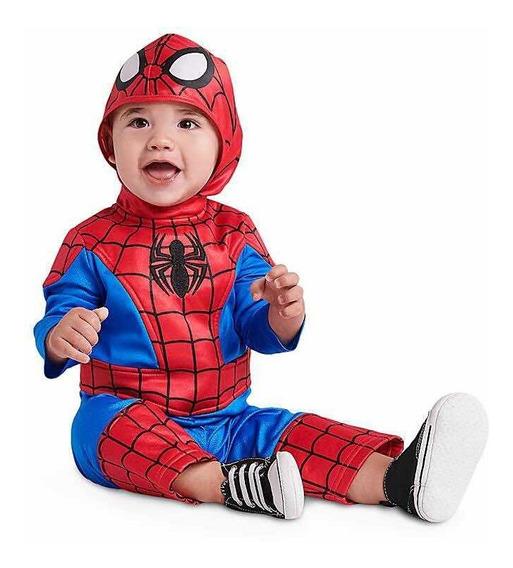 Traje Hombre Araña Spiderman Para Bebé Disney Store