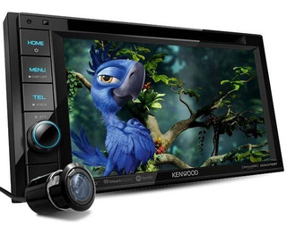 Autoestéreo Receptor Dvd Kenwood Ddx376bt + Cam Rev Cd Bt