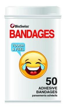 Bandaids Bioswiss Bandages Emotion Latinha 50 - Original