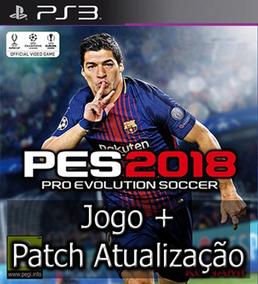 Pes 2018 Ps3 Midia Digital Português + Patch Atualização2019