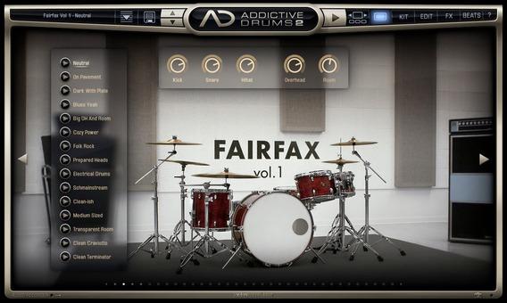 Instalação (vsti Bateria - Addictive Drums 2)