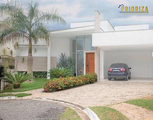 Imagem 1 de 15 de Casa À Venda, 287 M² Por R$ 1.380.000,00 - Condomínio Granja Deolinda - Sorocaba/sp - Ca0414