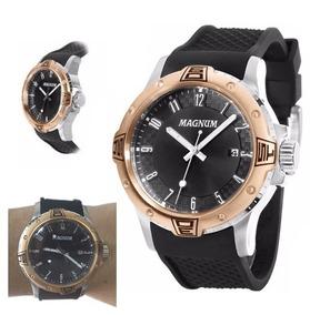 Relógio Magnun Masculino Ma34414p