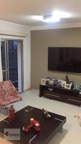 Imagem 1 de 23 de Imob01 - Apartamento 85 M² - Venda - 3 Dormitórios - 1 Suíte - Centro - Santo André/sp - Ap2306